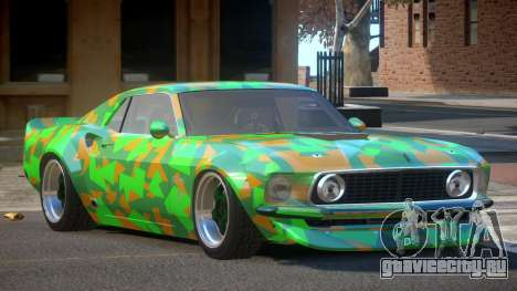 Ford Mustang TR Custom PJ4 для GTA 4