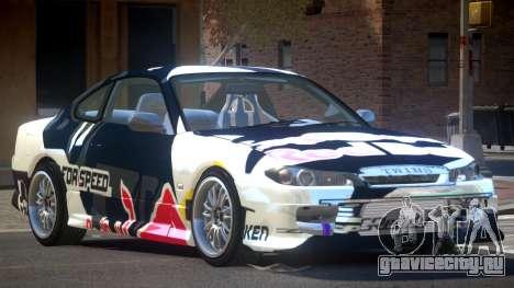 Nissan Silvia S15 M-Sport PJ2 для GTA 4