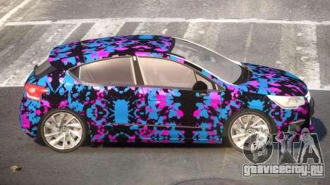 Citroen DS4 ST PJ4 для GTA 4