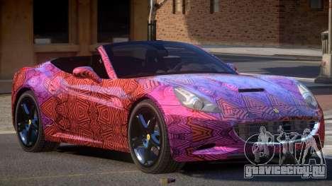Ferrari California SR PJ3 для GTA 4
