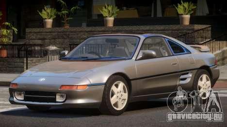 Toyota MR2 GT Sport для GTA 4