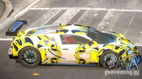 Bugatti Veyron SR 16.4 PJ1 для GTA 4