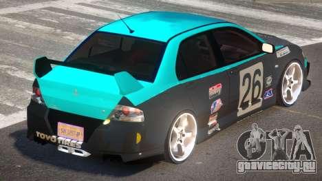 Mitsubishi Lancer G-Style PJ4 для GTA 4