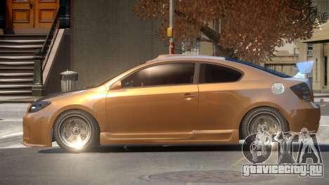Scion tC R-Tuning для GTA 4