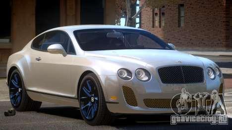 Bentley Continental SS L-Tuned для GTA 4
