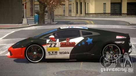Lamborghini Gallardo LP560 MR PJ3 для GTA 4