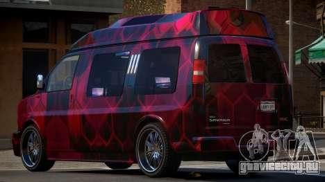 GMC Savana Travels PJ3 для GTA 4