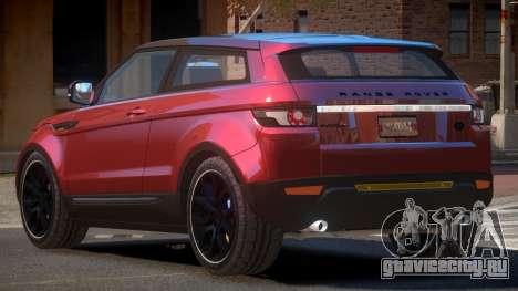 Range Rover Evoque MS для GTA 4