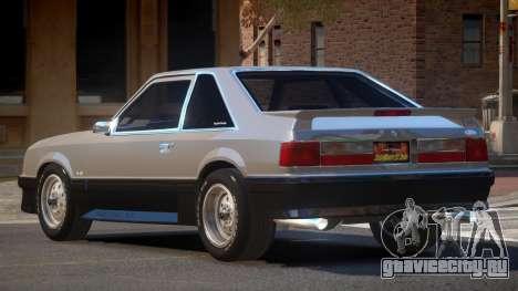 1990 Ford Mustang V1.0 для GTA 4