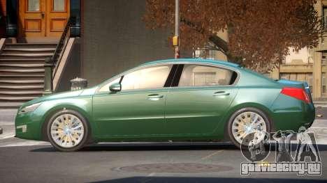 Pegeout 508 E-Style для GTA 4