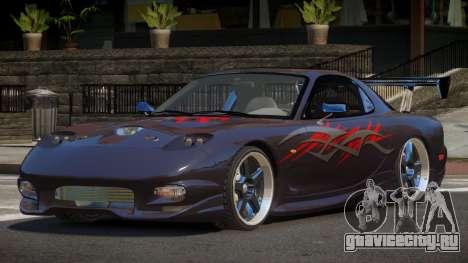 Mazda RX7 PSR PJ5 для GTA 4