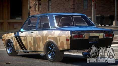 1972 Datsun Bluebird 510 PJ1 для GTA 4