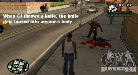 Kingsglaive CJ для GTA San Andreas