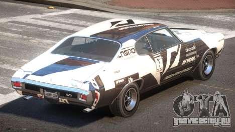 Chevrolet Chevelle 454 GT PJ4 для GTA 4