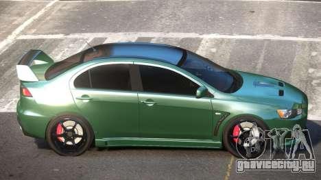 Mitsubishi Lancer X TR для GTA 4