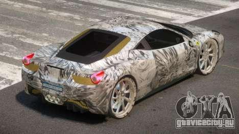 Ferrari 458 R-Tuned PJ4 для GTA 4