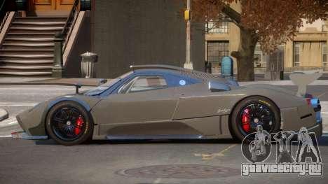 Pagani Zonda SR PJ1 для GTA 4