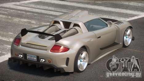 Porsche Carrera GT L-Tuning для GTA 4