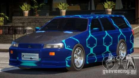 Nissan Stagea RS PJ2 для GTA 4