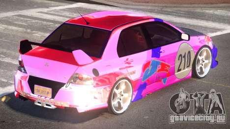 Mitsubishi Lancer G-Style PJ3 для GTA 4
