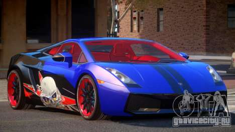 Lamborghini Gallardo FSI PJ5 для GTA 4