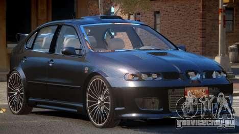 Seat Leon RS для GTA 4