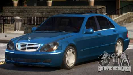 1993 Mercedes Benz S600 для GTA 4