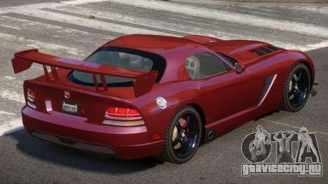 Dodge Viper SRT M-Sport для GTA 4