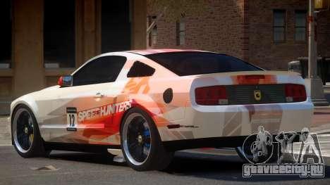 Ford Mustang G-Tuned PJ5 для GTA 4
