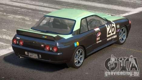 Nissan Skyline R32 V-Style PJ5 для GTA 4