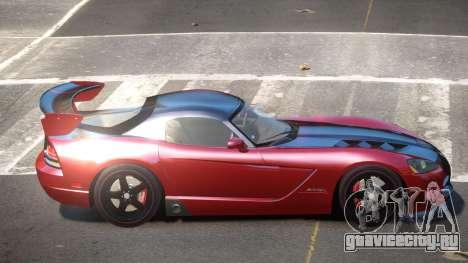 Dodge Viper SRT RG для GTA 4