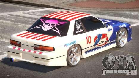 Nissan Silvia S13 TR PJ6 для GTA 4