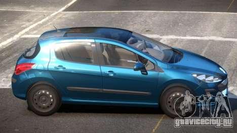 Peugeot 308 RT V1.1 для GTA 4