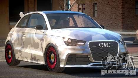 Audi A1 G-Style PJ2 для GTA 4