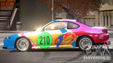 Nissan Silvia S15 M-Sport PJ6 для GTA 4