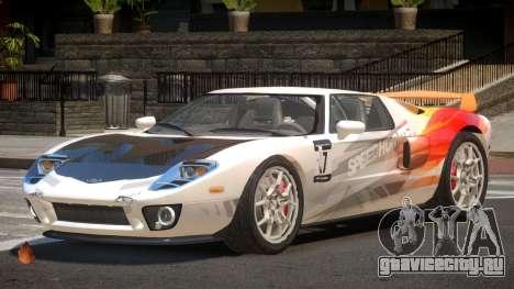 Ford GT R-Tuning PJ5 для GTA 4