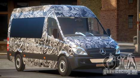 Mercedes Benz Sprinter MR PJ6 для GTA 4