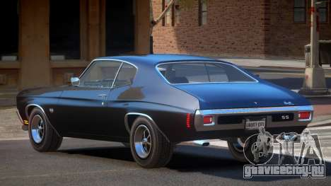 Chevrolet Chevelle 454 GT для GTA 4