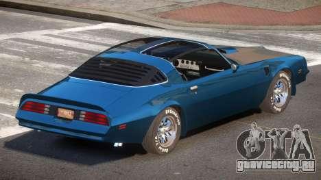 1989 Pontiac Firebird для GTA 4