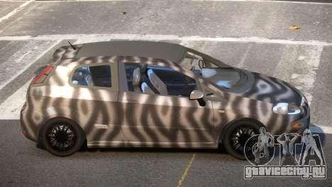 Fiat Punto TR PJ4 для GTA 4