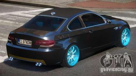 BMW M3 E92 TR для GTA 4