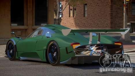 Pagani Zonda R G-Style для GTA 4
