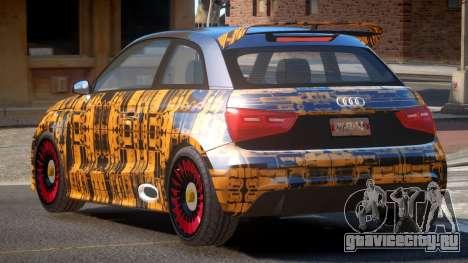 Audi A1 G-Style PJ1 для GTA 4