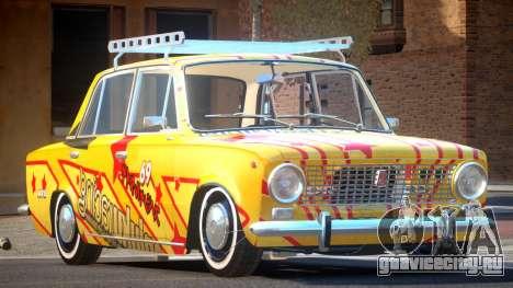 VAZ 2101 BR PJ4 для GTA 4