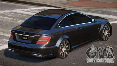 Mercedes Benz C63 A-Style для GTA 4