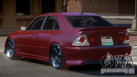 Toyota Altezza SL для GTA 4