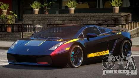 Lamborghini Gallardo FSI PJ6 для GTA 4