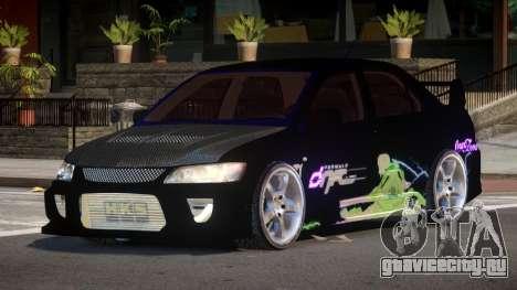 Mitsubishi Lancer G-Style PJ2 для GTA 4
