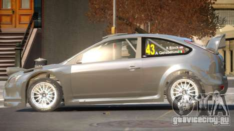 Ford Focus RS TDI для GTA 4