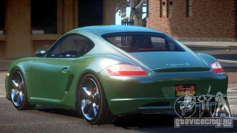 Porsche Cayman TR для GTA 4